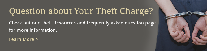 Question about Your Theft Charge?